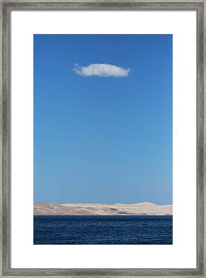 Framed Print featuring the photograph Cloud by Davor Zerjav