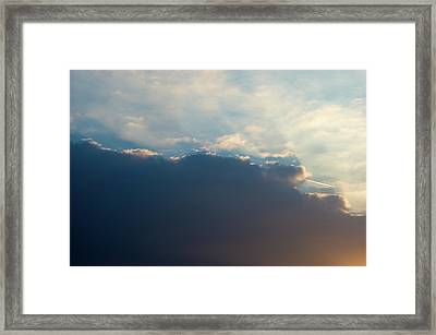 Framed Print featuring the photograph Cloud-scape 1 by Stewart Marsden