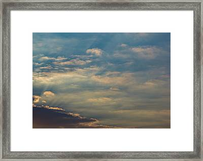 Framed Print featuring the photograph Cloud-scape 2 by Stewart Marsden