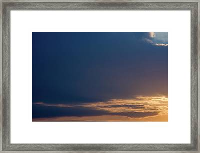 Framed Print featuring the photograph Cloud-scape 3 by Stewart Marsden