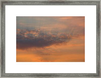 Framed Print featuring the photograph Cloud-scape 4 by Stewart Marsden