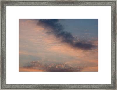 Framed Print featuring the photograph Cloud-scape 5 by Stewart Marsden