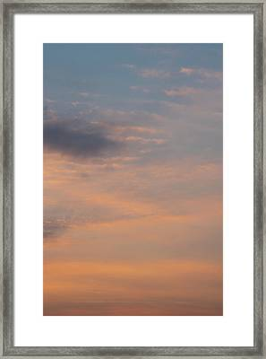 Framed Print featuring the photograph Cloud-scape 6 by Stewart Marsden