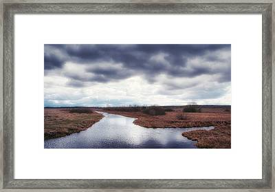 Framed Print featuring the photograph Cloudside. Kuchynivka, 2015. by Andriy Maykovskyi