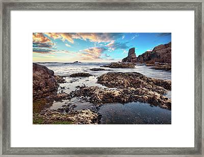 Coast At Sozopol, Bulgaria Framed Print