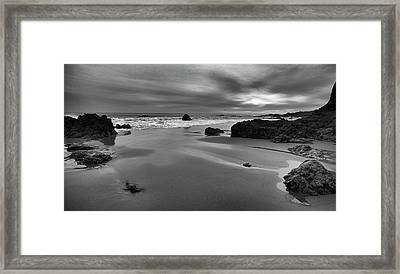 Coastal Light Iv Framed Print