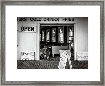Cold Drinks Framed Print
