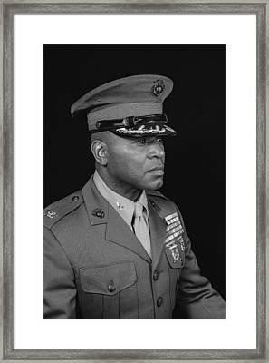 Colonel Al Trimble Framed Print