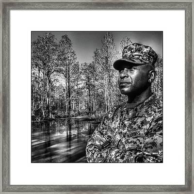 colonel Trimble 2 Framed Print