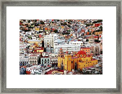 Color Collection Framed Print