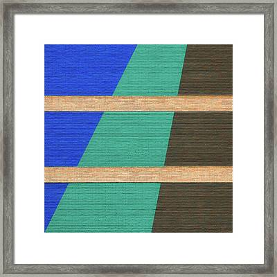 Colorado Abstract Framed Print