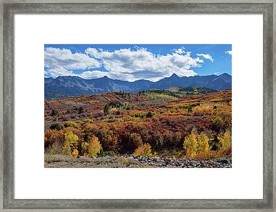 Framed Print featuring the photograph Colorado Color Lalapalooza by James BO Insogna