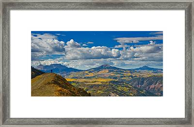 Colorado Fall Framed Print