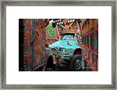 Truck Art Framed Print