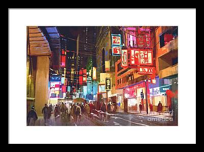 Illumination Framed Prints