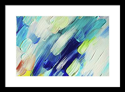 Living Healing Color Therapy - Decolores Framed Prints