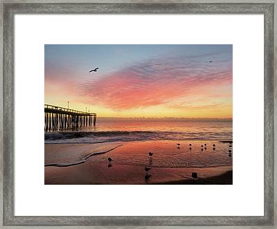 Framed Print featuring the photograph Colors Of Dawn by Robert Banach