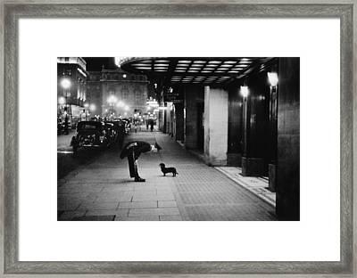 Commissionaires Dog Framed Print