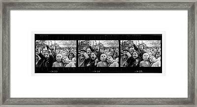 Composite Of Frames 33 34 & 35 Of Framed Print