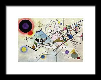 Wassily Kandinsky Framed Prints