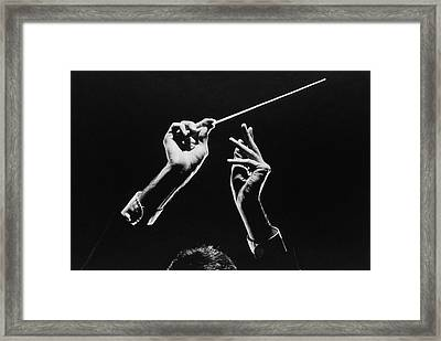 Conductor Framed Print