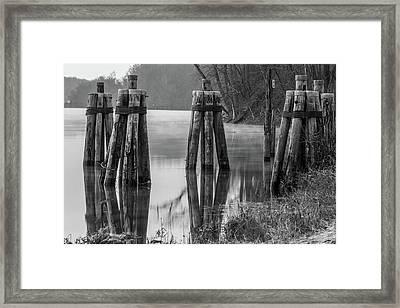 Connecticut River At Dawn Framed Print