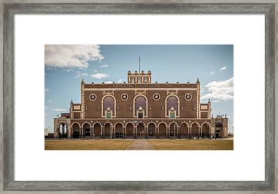 Convention Hall Framed Print