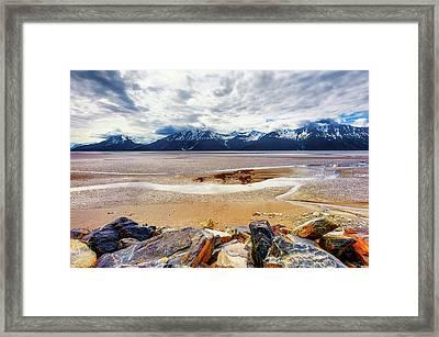 Cooks Inlet In Alaska Framed Print