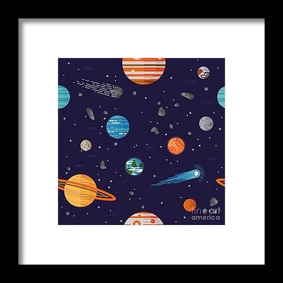 Earth Observation Framed Prints