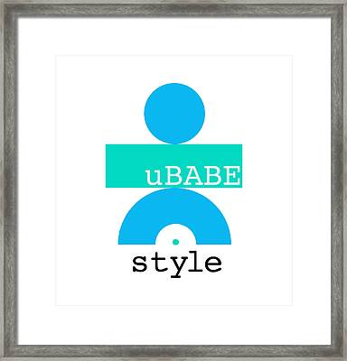 Cool Style Framed Print