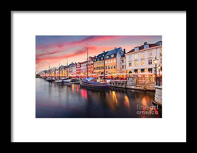 Townscape Framed Prints