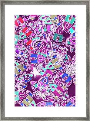 Cosmic Creativity Framed Print