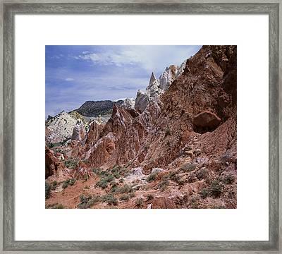 Cottonwood Spires 1 Framed Print