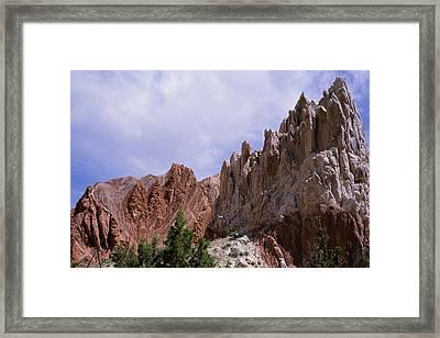 Cottonwood Spires 2 Framed Print