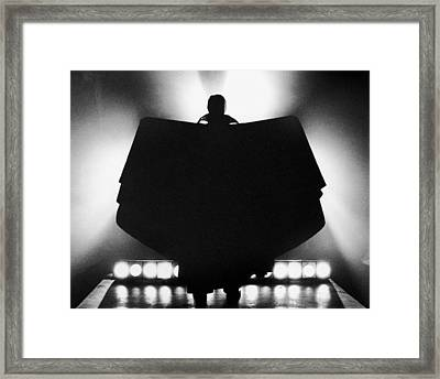 Count Dracula Framed Print by Archive Photos