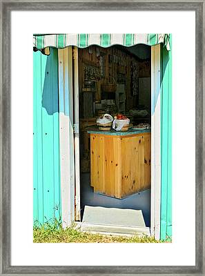 Framed Print featuring the photograph Country Store by Tatiana Travelways