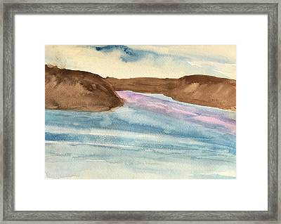 County Lake Framed Print