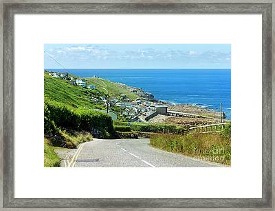 Cove Hill Sennen Cove Framed Print
