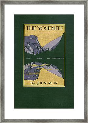Cover Design For The Yosemite Framed Print