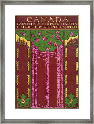 Cover Design For Canada Framed Print