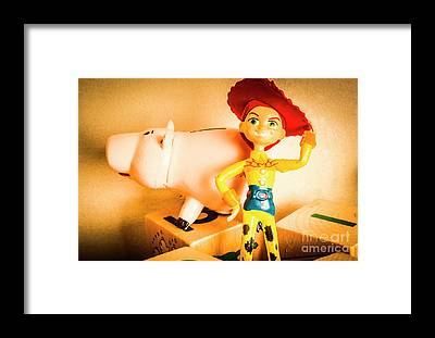 Piggy Bank Framed Prints
