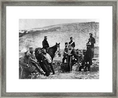 Crimean Soldiers Framed Print by Hulton Archive