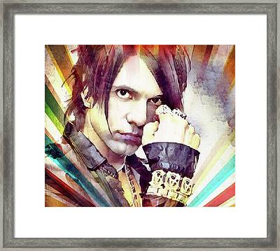 Criss Angel Framed Print