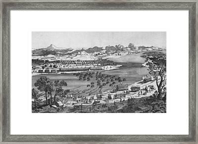 Crossing The Rhone Framed Print by Hulton Archive