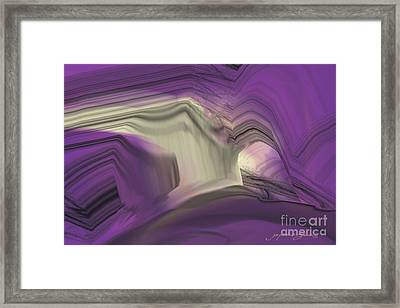 Crystal Journey Framed Print
