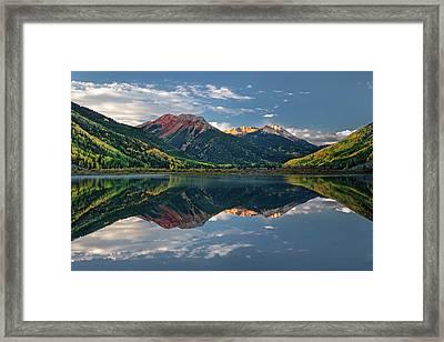 Crystal Morning Framed Print