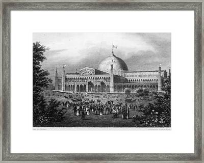 Crystal Palace Framed Print by Fotosearch