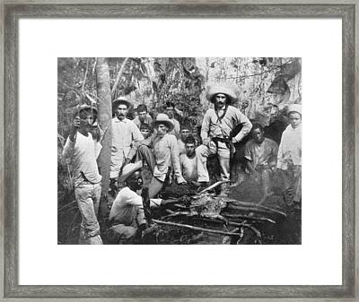 Cuban Rebels Framed Print by Hulton Archive