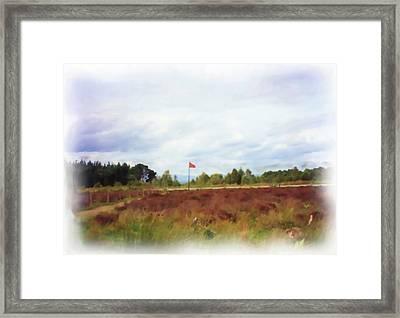 Culloden Battlefield Painting Framed Print