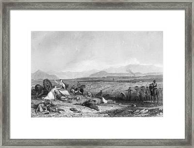 Culloden Moor Framed Print by Rischgitz